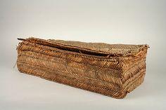 Weaving Basket 12 to 14th Century Peru