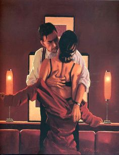 Jack Vettriano - The Embrace Of The Spider