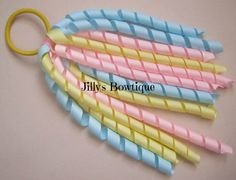 Pony Tail Korker by JillysUniqueBowtique on Etsy, $5.00