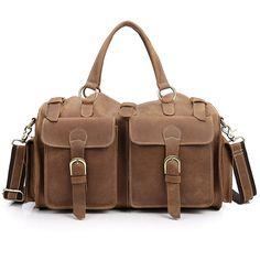 Home Bright Goog.yu Genuine Leather Bag Male Casual Crossbody Bag Fashion Mini Handbags Men Top Layer Cowhide Deep Coffee Shoulder Bags By Scientific Process