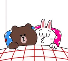 GIF brown & cony Good Night | VideosGifs