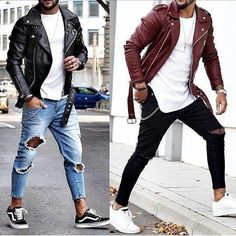 casual mens fashion which looks trendy . Stylish Men, Men Casual, Smart Casual, Casual Outfits, Mode Man, Style Masculin, Herren Winter, Vetement Fashion, Leather Jacket Outfits