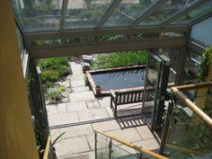 2 storey in glass