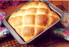 What could be easier than preparing and baking a pan of buttermilk yeast rolls in about an hour and a half? They're light and tender - simply delicious!