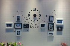 Reloj Pared Vinilo