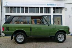 HRH Prince Charles' Range Rover he received as a gift for bis 21st birthday.