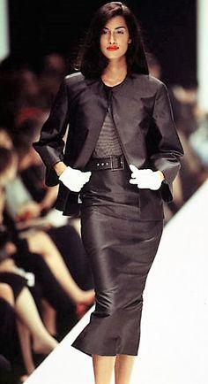 Yasmeen Ghauri - Gianfranco Ferre' 1995