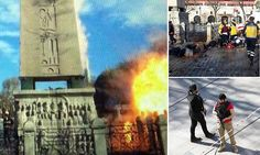 Terrifying moment ISIS suicide bomber exploded in centre of Istanbul and killed 10 German
