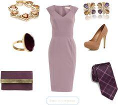 Lavender Dress for a Wedding
