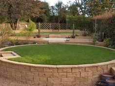 Circular Garden Designs contemporary circular garden design | gardens | pinterest