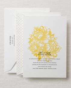 """See the """"Preppy Invitation"""" in our Floral Wedding Invitations gallery"""