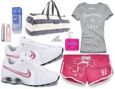 """Volleyball outfit 2"" by i-love-youxoxo ❤ liked on Polyvore"