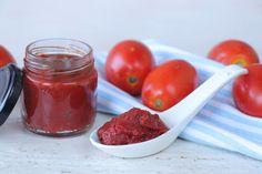 Homemade Tomato Paste, Fruit Preserves, How To Make Homemade, Food Hacks, Food Tips, Diy Food, Jelly, Salsa, Dips