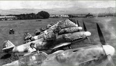 Bf 109 G-6 W.Nr. 16. ..., Bulgarian Air Force, Summer 1944. Source: bf109.de   by mhaldimann2