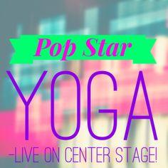 Pop Star Yoga Birthday Party