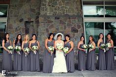 Jenny Yoo Bridesmaid Dresses | Photo by Joe Elario Photography