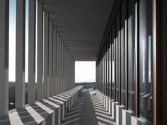 David Chipperfield . The Museum of Modern Literature .  Marbach am Neckar  (6)