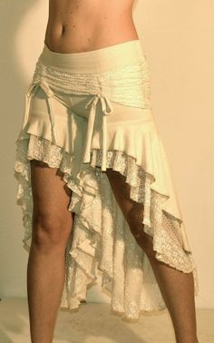 Skirted Deadwood Bloomers in Cream