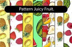Juicy Fruit - Pattern set by pashigorov on @creativemarket