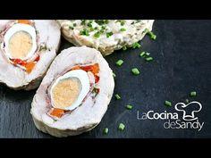 Matambre de pollo en recetas faciles de cocina para navidad - YouTube Fun Cooking, Fried Chicken, Holiday Recipes, Camembert Cheese, Sushi, Fries, Food And Drink, Yummy Food, Meals