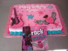 Rockstar Birthday Cakes For Girls | Rock Star Birthday Cake — Children's Birthday Cakes