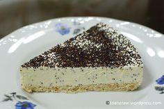 Raw lemon cake Healthy Desserts, Raw Food Recipes, Raw Vegan, Tiramisu, Cheesecake, Lemon, Pudding, Ethnic Recipes, Mai