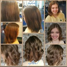 The talented @suzannebruce transformed this young ladies hair! Book with her by calling 850-575-7529! #cabellossalon #cabellostally #tally #tallahassee #hair #salon #spa #hair #transformation #hairsalon #redken @behindthechair_com @modernsalon @redken5thave #styleyourstory #before #after