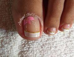 Pretty Toe Nails, Pretty Toes, Beauty Nails, Hair Beauty, Finger, Berry Cake, Nailart, Types Of Nails, Nail Colors