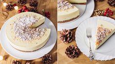 Den kjente, kjære ostekaken får her en nydelig julesmak ved at kjeksbunnen lages med knuste pepperkaker. Ostefromasjen har mild smak av appelsin. Dette er en kake som passer like godt som dessert etter en god middag som på kakebordet, og det ikke noe i veien for å lage kaken klar et par dager før servering. Tips: Til ostekaker er det smart å bruke en kakeform som er integrert med kakefat. Alternativt kan du sette kakeringen direkte på et kakefat, men da er det veldig viktig at du klemmer ... Tiramisu, Camembert Cheese, Dairy, Baking, Ethnic Recipes, Desserts, Food, Tarts, Tailgate Desserts