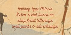 HT Osteria™ font download