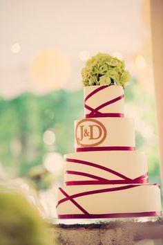 Jeffrey & Julia Woods With Cosmopolitan Events In St. Louis    #edmontonweddings #weddingideas #weddingcake