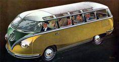 """sta imagem dos anos 50, tenta disfarçar as formas que a renderam o apelido de """"Pão de Forma"""" por todo o mundo"""