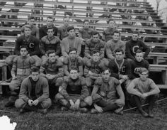 early 1900s photo GEORGETOWN FOOTBALL
