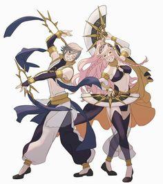 Inigo and Olivia Fire Emblem Awakening, Fire Emblem Characters, Anime Characters, Fire Emblem Inigo, Manga Art, Anime Art, Character Art, Character Design, Shadow Dragon