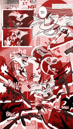 Angel Aesthetic, Aesthetic Collage, Red Aesthetic, Aesthetic Anime, Bad Girl Wallpaper, Pastel Wallpaper, Cool Wallpaper, Wallpaper Animes, Animes Wallpapers