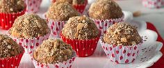 30 Receitas de Brigadeiros Gourmet – Cursos de Doces Gourmet Brigadeiro Recipe, Coco, Biscuits, Muffin, Banana, Cooking, Breakfast, Sweet, Desserts