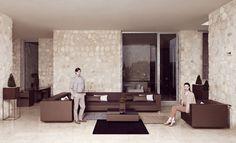 Contemporary table / garden - VELA by Ramon Esteve - VONDOM - Videos