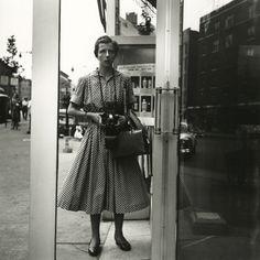 Vivian Maier - Self-portrait, New York 1954  - Howard Greenberg Gallery