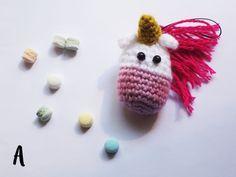 Unicorn charm handmade by Bisscotton