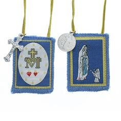 Today is the feast day of the Immaculate Conception. We are so blessed to have her as the patron of the USA! You can wear this beautiful scapular for love of her.