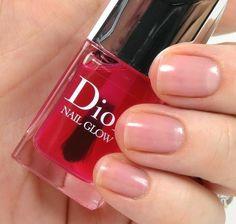 Dior Dior Nail Glow, Dior Nail Polish, Dior Nails, Cute Nail Polish, Love Nails, My Nails, Hair Skin Nails, Beauty Junkie, Makeup Designs
