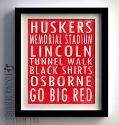 GO. BIG. RED.