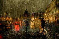 Fotógrafo registra imagens incríveisde cidades sob forte temporal | Catraca Livre