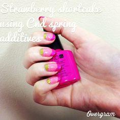 Shellac over natural nails using Cnd additives
