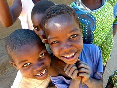 You can't help but smile when looking at these boys! Monkey Bay, Malawi. Photo credit: Katherine Salerno.