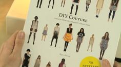 DIY Couture: Create Your Own Fashion Collection by Laurence King Publishing. Author, Rosie Martin, was inspired to start making her own clothes in her early teens when she couldn't find the 'colourful' trousers she wanted on the high street. Armed with only a sewing machine and her limited school-learned needlework skills Rosie produced her first garment.