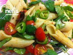Semizotlu Makarna Salatasi