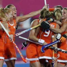 Dutch ladies hockey team won the Olympic gold medal!!!