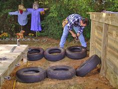How to build a obstacle course