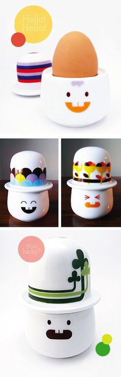 Adorable egg cups!